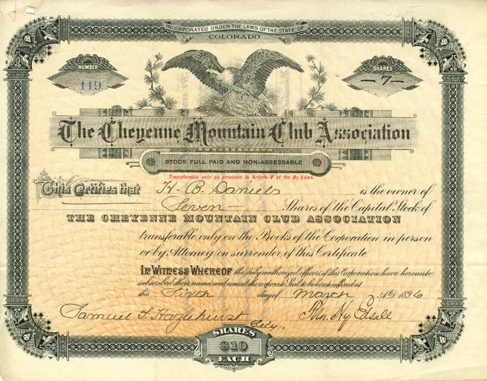 Cheyenne Mountain Club Association