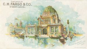 Administration Building World's Columbian Exposition