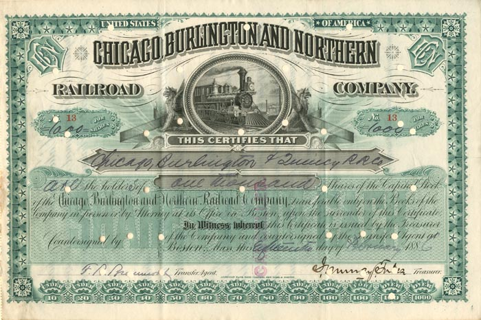 Chicago, Burlington and Northern Railroad Company