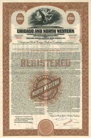 Chicago and North Western Railway Company - SOLD