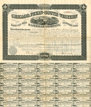 Chicago, Pekin and South-Western Railroad Company