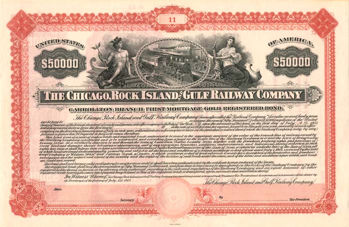 Chicago, Rock Island and Gulf Railway Company