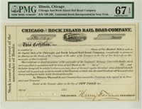 Chicago and Rock Island Rail Road Company