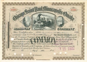 Chicago, Saint Paul, Minneapolis & Omaha Railway Company - SOLD