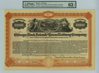 Chicago, Rock Island & Texas Railway $10,000 Bond - SOLD