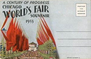 Chicago World's Fair Postcards