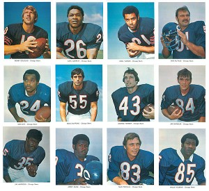 Football - 12 NFL Chicago Bears Photos Set - SOLD