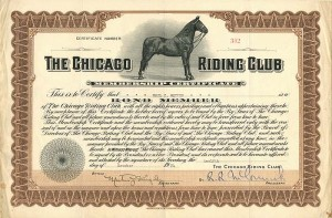 Chicago Riding Club - SOLD