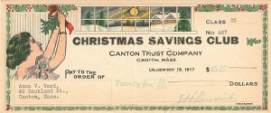 Christmas Savings Club