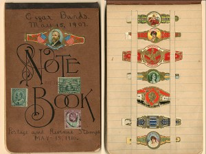 Cigar Bands Note Book - SOLD