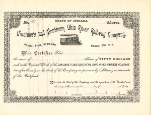 Cincinnati and Southern Ohio River Railway Company