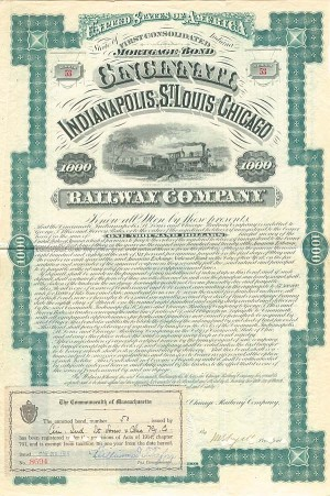 Cincinnati, Indianpolis, St. Louis and Chicago Railway Company