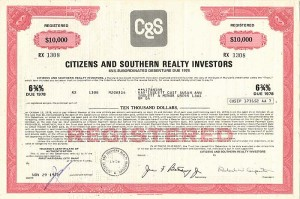 Citizens and Southern Realty Investors