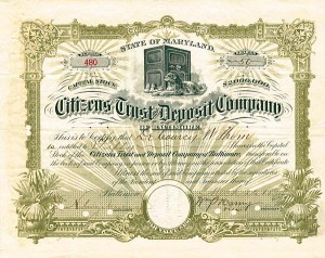 Citizens Trust & Deposit Company of Baltimore, Maryland