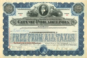 City of Philadelphia - Various Denominations