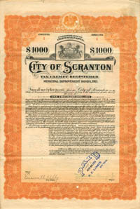 City of Scranton - $1000