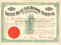 City Trust, Safe Deposit and Surety Co. of Philadelphia