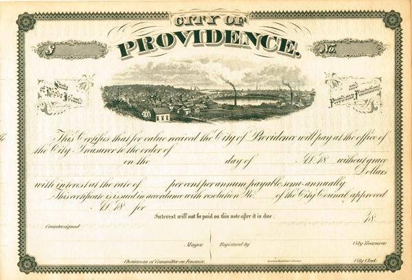 City of Providence - Bond