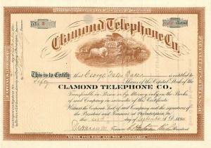 Clamond Telephone Co. - SOLD