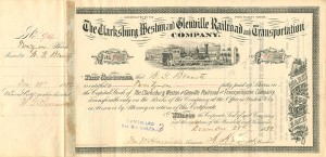 Clarksburg Weston and Glenville Railroad and Transportation Company