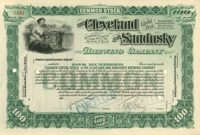 Cleveland and Sandusky Brewing Company