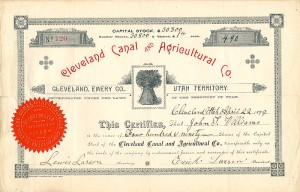 Cleveland Canal and Agricultural Co.