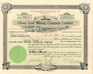 Clover Leaf Mining Company Limited