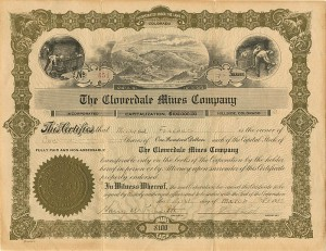 Cloverdale Mines Company - SOLD