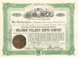 Columbia Fuller's Earth Company