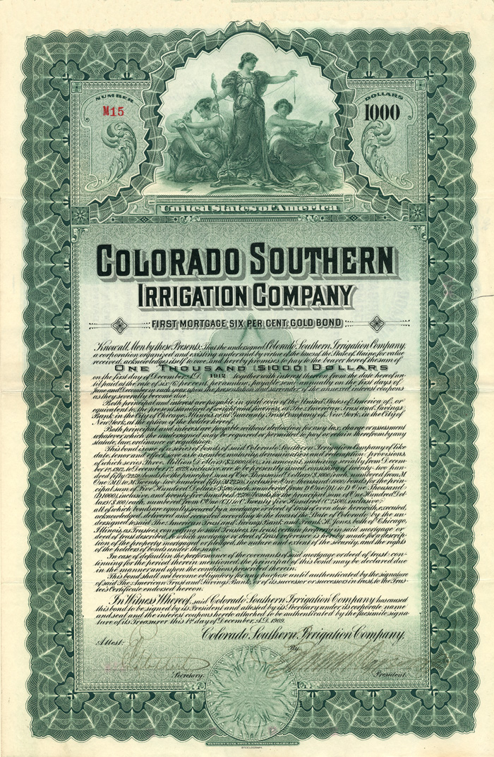 Colorado Southern Irrigation Company