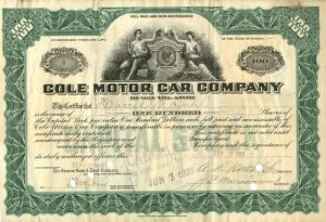Cole Motor Car Company