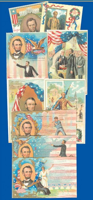 Lincoln Post Cards