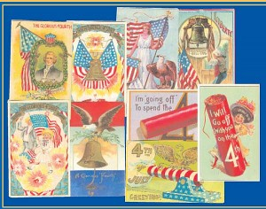 4th of July Post Cards