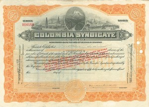 Colombia Syndicate - SOLD