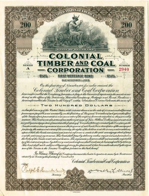 Colonial Timber & Coal Corporation