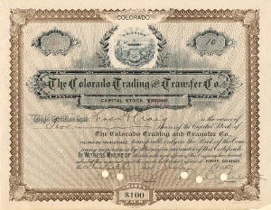 Colorado Trading and Transfer Co.