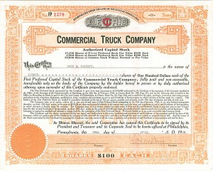 Commercial Truck Company - SOLD
