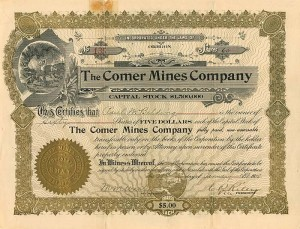 Comer Mines Company - SOLD