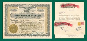 Comet Automobile Company - SOLD