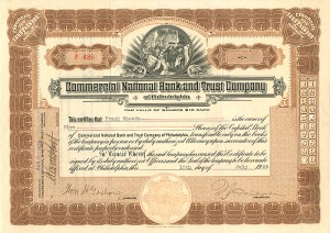 Commercial National Bank and Trust Company