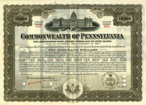 Commonwealth of Pennsylvania Specimen