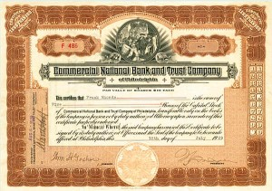 Commercial National Bank & Trust Company of Philadelphia