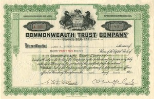 Commonwealth Trust Company