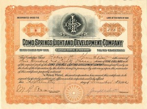 Como Springs Light and Development Company