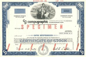 Compugraphic Corporation - SOLD