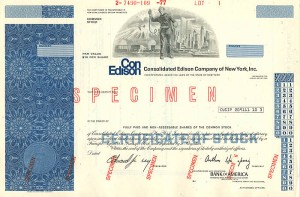 Con Edison Consolidated Edison Company of New York, Inc.
