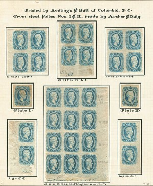 Confederate Stamps - SOLD
