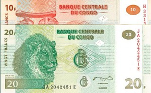 Congo Pair of Notes