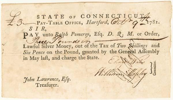 Connecticut Document