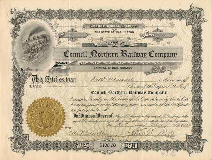Connell Northern Railway Company